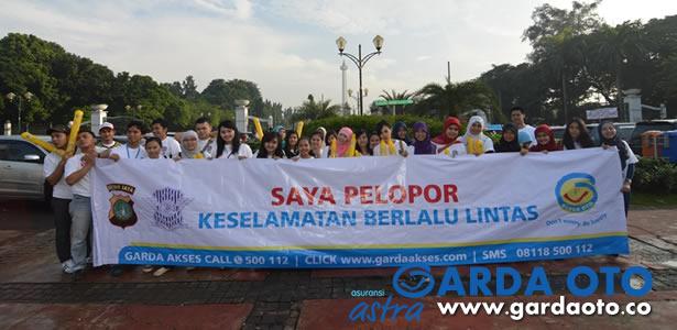 Garda Oto dan Polda Metro Jaya Sosialisasikan Gerakan Pelopor Keselamatan Berlalu Lintas