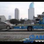 Garda Oto mengevakuasi mobil pelanggan