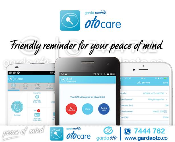 Asuransi Astra Luncurkan Aplikasi Garda Mobile Otocare
