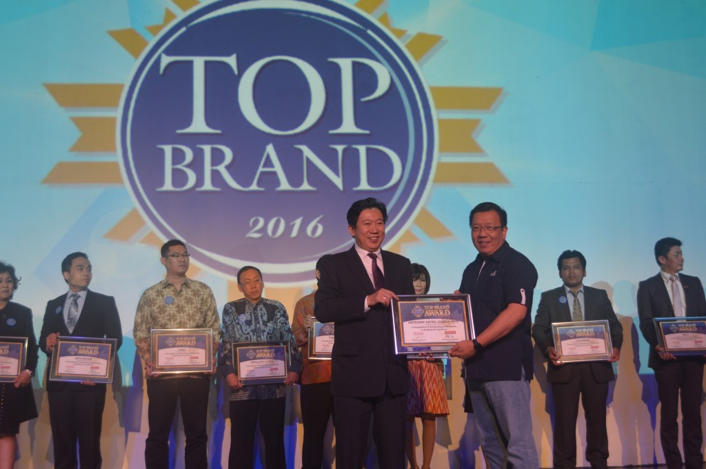 Garda Oto, Top Brand Award 2016