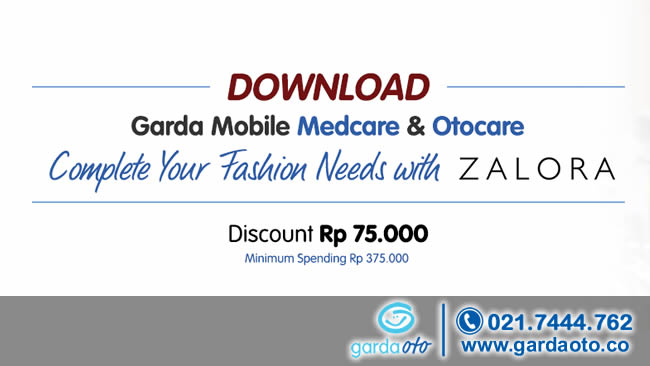 Promo Garda mobile Otocare dan Medcare bersama Zalora