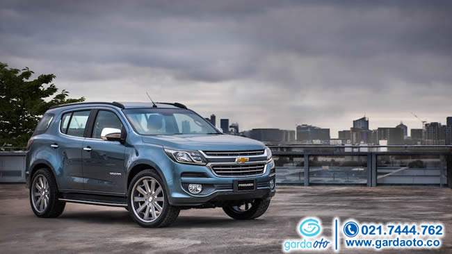 CHEVROLET TRAILBLAZER ALL NEW 2.5 LTZ AT