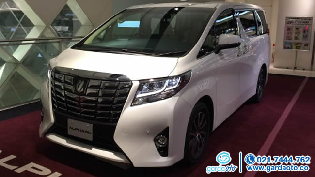 TOYOTA VELLFIRE ALL NEW 2.5 ZG AT