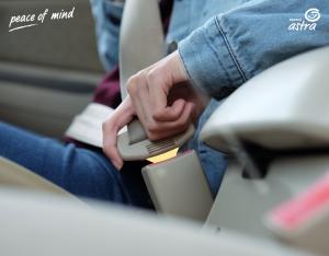 pengguna sabuk pengaman